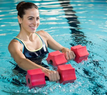 Practica Aquafitness en Forus illustrative image