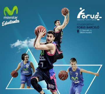 Escuela de Baloncesto Movistar Estudiantes en Forus Barceló  illustrative image